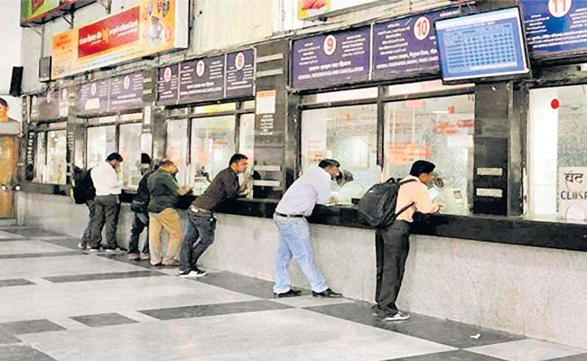Reservation counters at 52 railway stations - Sakshi