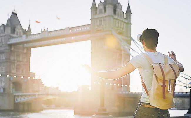 Tourism People Giving Importance For Virtual Travel - Sakshi