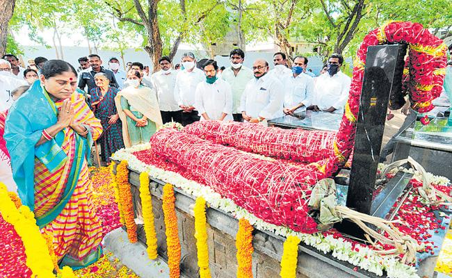 A great tribute to YS Raja Reddy - Sakshi