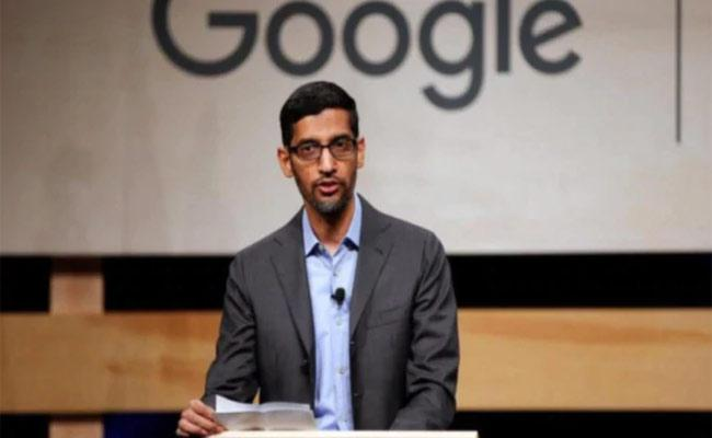 Sundar Pichai Says Google Employees Need To Get Together In Physical Spaces For Growth Plans - Sakshi