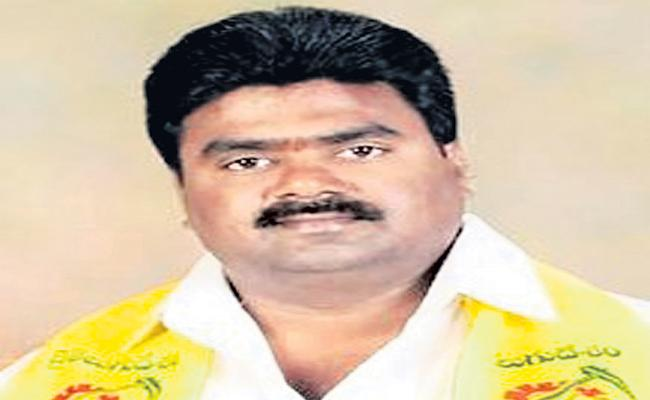 TDP leader Kuna Ravikumar Threats Tahsildar Ramakrishna - Sakshi