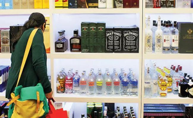 Uttar Pradesh  Government  Allows Sale Of Foreign Liquor In Malls - Sakshi