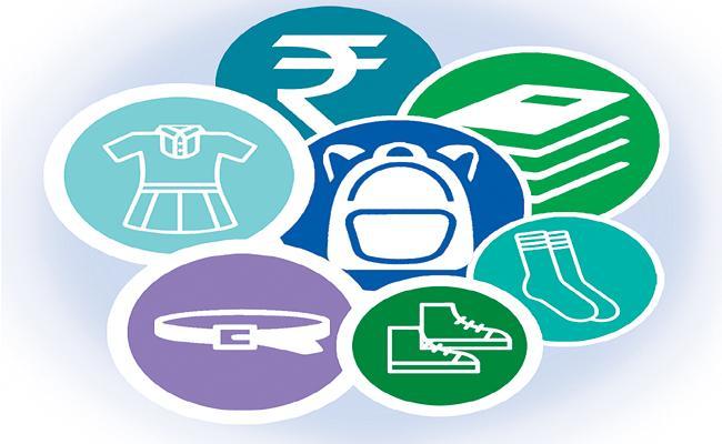 Seven items under Jagananna Vidya Kanuka for students of public schools - Sakshi