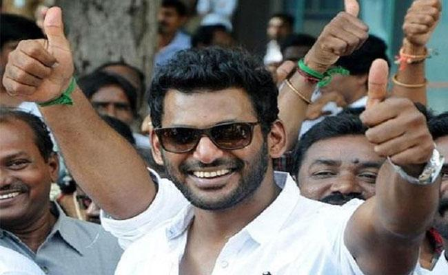 Vishal Team Will Contest In Tamil Producers Council - Sakshi