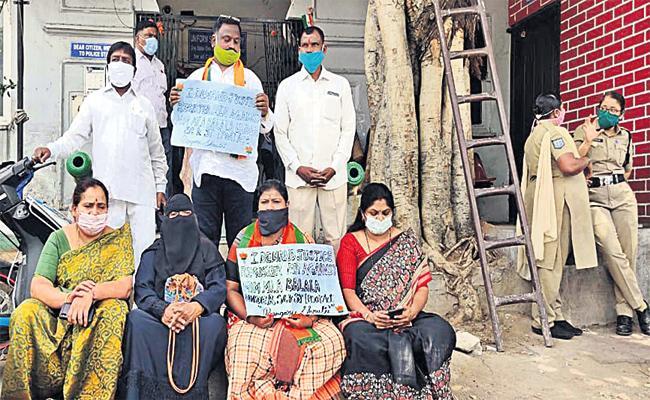 FIR File With Back Date in Bangaru Sruthi Case Hyderabad - Sakshi