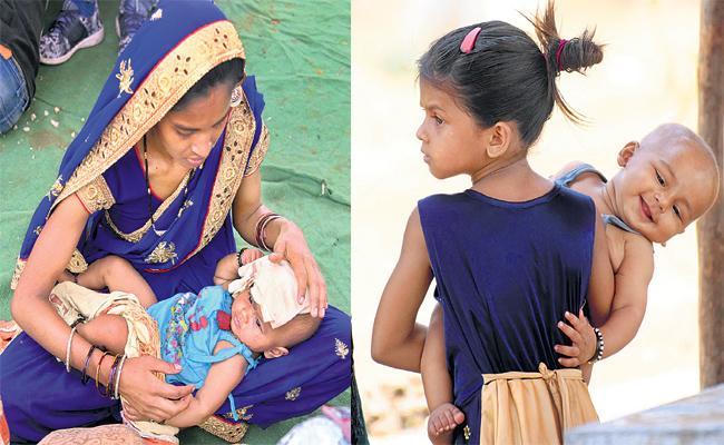 Childrens Suffering in Summer With Lockdown - Sakshi