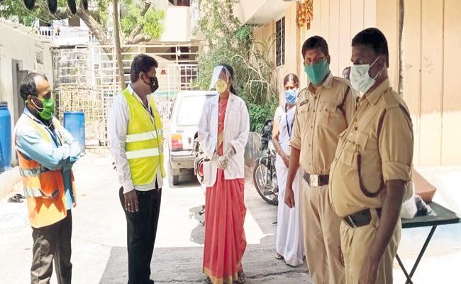 Medical And Police Department Fight Against Coronavirus - Sakshi