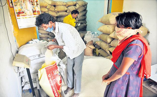 Free Ration Distribution Fifth Phase is Ready - Sakshi