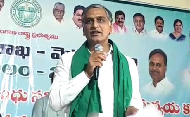 Minister Harish Rao Participate Controlled Farming Awareness Program - Sakshi