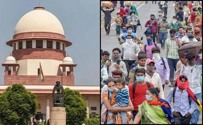 Supreme Court notice to Centre over migrants - Sakshi