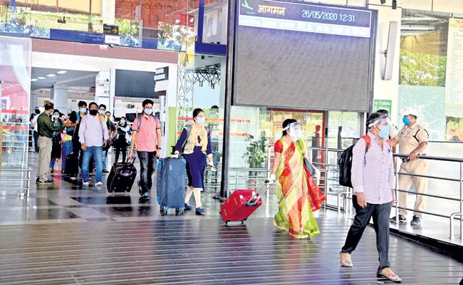 Air Services Reopened on 26th May - Sakshi