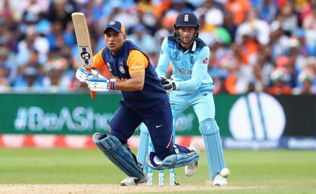Dhoni Appeared More Intent on Singles than Sixes Said Stokes - Sakshi