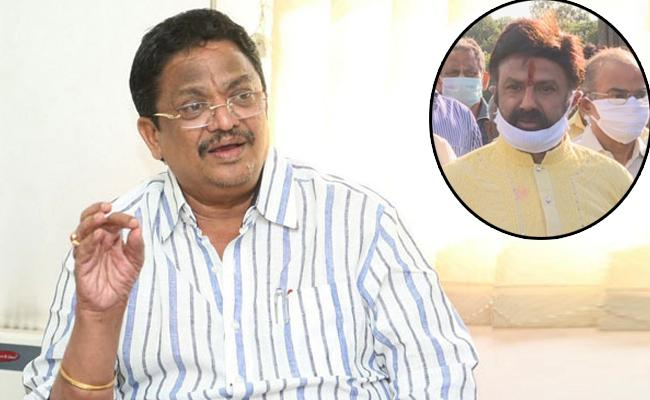 C Kalyan Gives Clarity On Balakrishna Comments In Film Industry - Sakshi