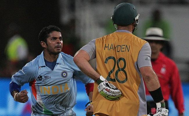 Sreesanth Recalls His Spell In 2007 T20 WC Semi Final Vs Australia - Sakshi