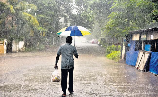 Rain Forecast For Upcoming Three Days In Telangana - Sakshi