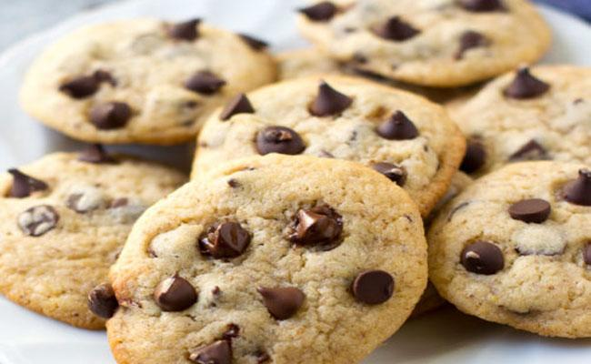 Choco Chip Cookies making In Ten Minutes Without Egg and Oven - Sakshi