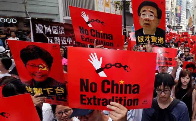 China Passed Controversial Nationa Security Law On Hong Kong - Sakshi