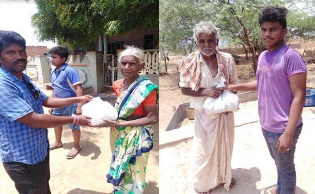 NRIs Help To Indian Farmers And Poor People In Prakasam - Sakshi