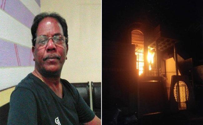 BJD Leader Alekh Choudhury Deceased In AC Fire Accident - Sakshi