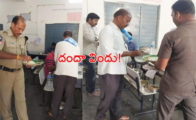TDP Leader Lunch Party to inquiry Police Anantapur - Sakshi