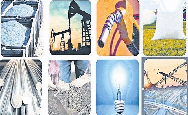 India is Core Sector Output Contracts By Record 38.1 percent In April - Sakshi