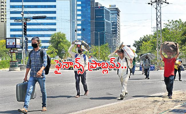 No Government Camps in Hyderabad For Migrant Labour - Sakshi