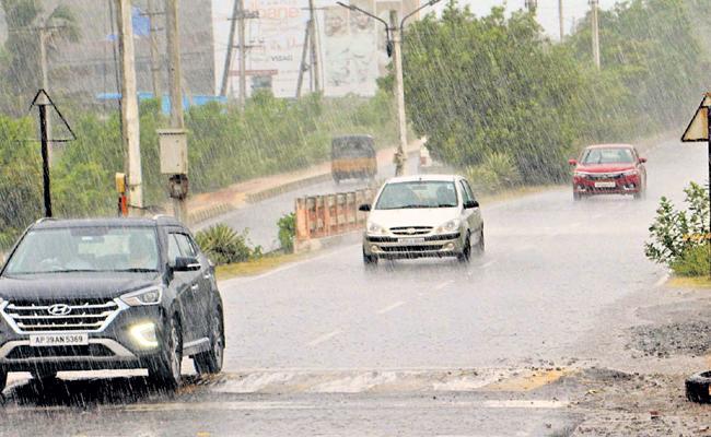 Actively moving Monsoons - Sakshi