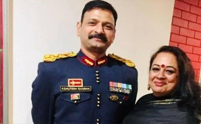 Col Ashutosh Sharma Mortal will be brought to his home in Jaipur on Monday evening - Sakshi