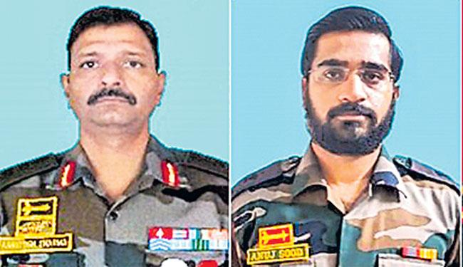 Colonel And Major among 5 personnel lifeless in encounter in Kashmir - Sakshi
