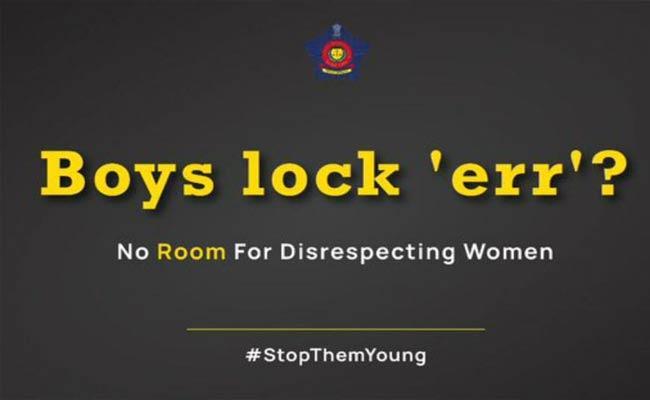 Mumbai Police Shares Tweet To All That Boys Will Be Boys - Sakshi