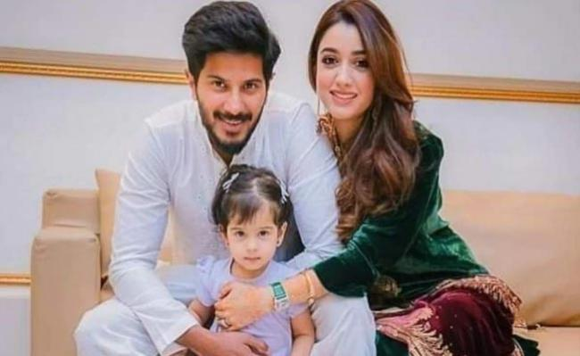 Dulquer Salmaan Wishes Daughter Maryam On Birthday - Sakshi