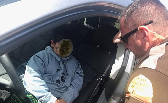 Cops Stunns Over 5 Year Old Boy Driving SUV Car On Highway In Utah - Sakshi