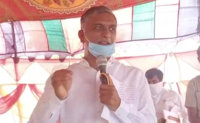 Harish Rao Says Farmers Loan Waiver money Will Be Released In Two Days - Sakshi