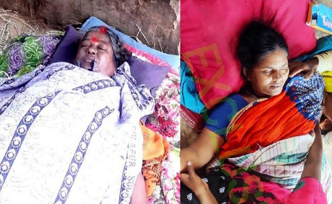 Two Womens Deceased In Kusumanchi Khammam - Sakshi