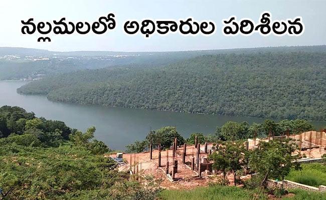 JAC Leaders Protest Against Forest Department in Mahabubnagar - Sakshi