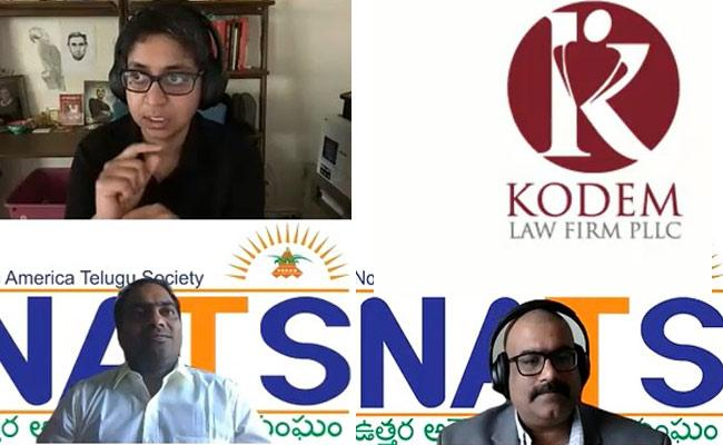 NATS Dallas chapter conducts immigration webinar - Sakshi