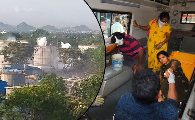 Visakhapatnam Gas Leak: Sterin Gas Very Impact On Public - Sakshi