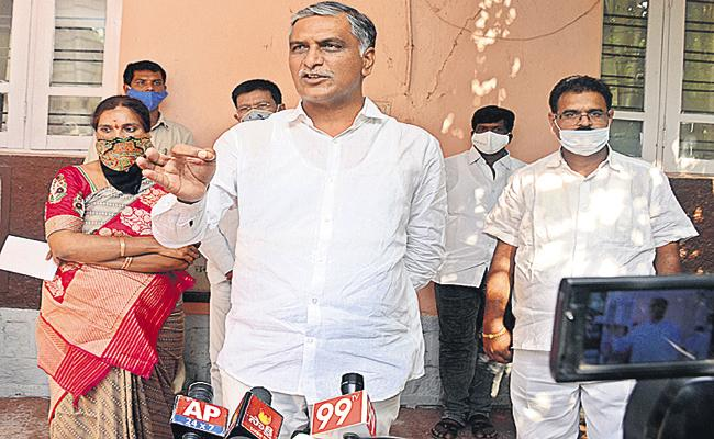 Harish Rao Comments On Congress And BJP Leaders - Sakshi