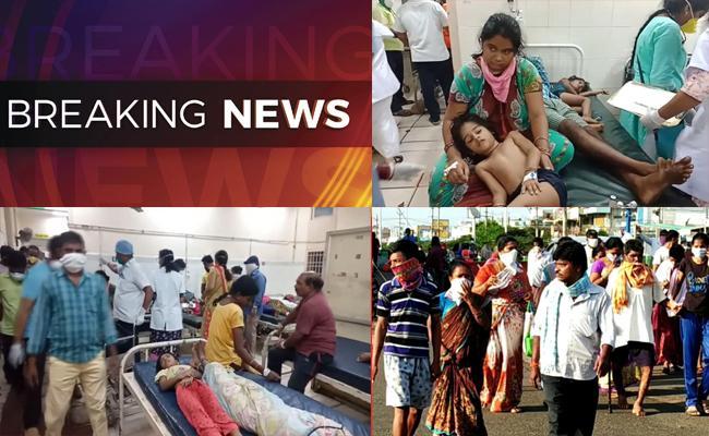 Gas Leakage In LG Polymers Factory In Visakapatnam - Sakshi