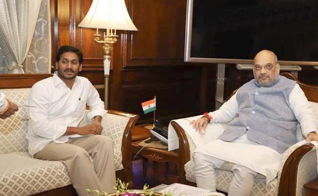 CM YS Jagan Will Meet Amit Shah On Tuesday - Sakshi