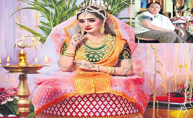Special Story About Abok Radhe Saree Designs - Sakshi