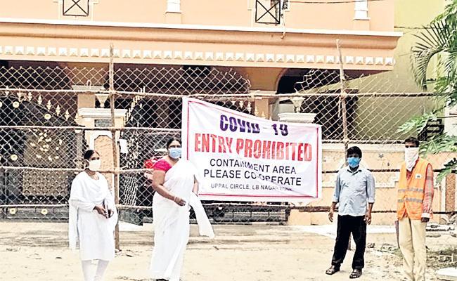 Coronavirus Cases Rising in Hyderabad - Sakshi