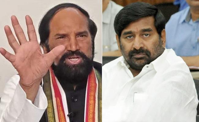 CM KCR, Minister for telling Blatant lies, says Uttam kumar reddy - Sakshi