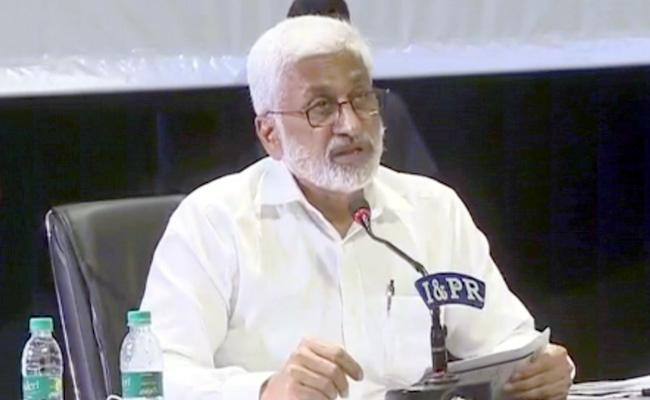 MP Vijaya Sai Reddy Critics Nimmagadda Ramesh And Chandrababu - Sakshi