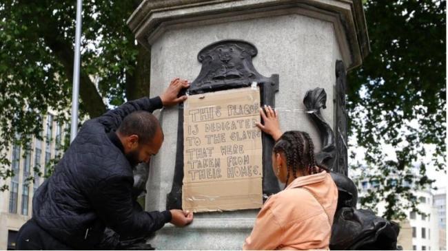 London Removes Slave Trader Statu - Sakshi