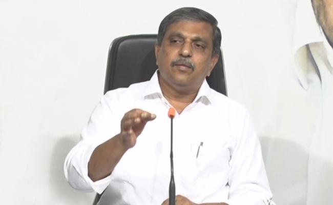 Sajjala Ramakrishna Reddy Slams Chandrababu Naidu - Sakshi