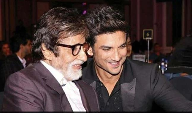 Why Asks Amitabh Bachchan In Tribute To Sushant Singh Rajput - Sakshi