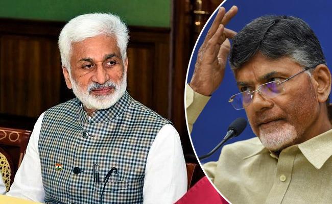 Vijayasai Reddy Slams Chandrababu Naidu And Lokesh Babu - Sakshi