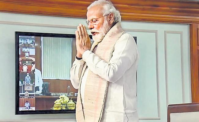 PM Narendra Modi says sacrifice of jawans will not go in vain - Sakshi