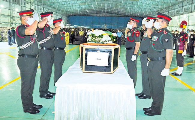 Colonel Santosh Babu Mortal Reaches Suryapet District - Sakshi